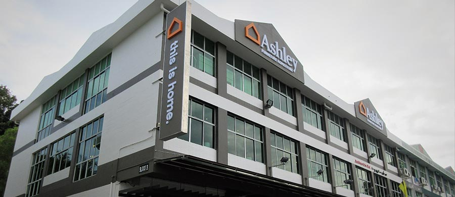 Ashley Furniture Homestore Opens New Store In Brunei