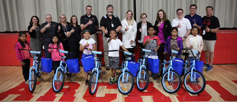 Incroyable Ashley Furniture Industries Partners With Ashleyu0027s Angels To Donate  Bicycles To Area Children