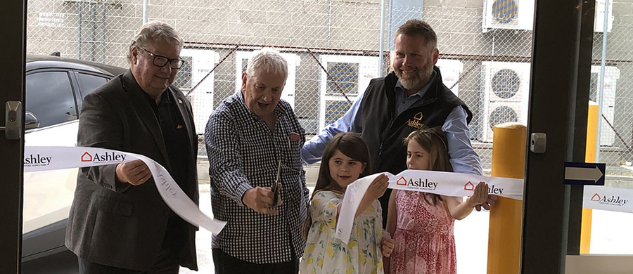 Ashley Furniture HomeStore Opens New Store in Hobart and Donates to Tasmanian Bushfire Relief